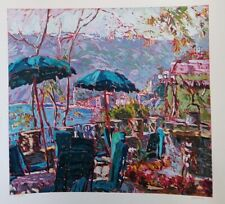 Marco Sassone,PORTA ROCA,Ltd Ed.Serigraph Numbered/ Hand signed by artist w/LOA.