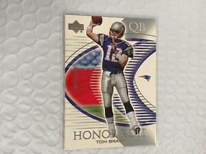 Tom Brady 2003 Upper Deck Honor Roll Card New England Patriots #59 C19