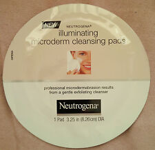 5 Neutrogena Illuminating Microderm Cleansing Pads *NEW*