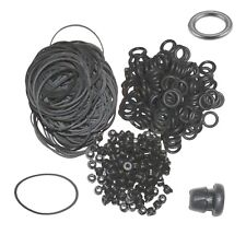 100 Black Tattoo Grommets 100 Rubber Bands 100 ORings