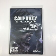 Call of Duty Ghosts PC Game Brand New Factory Sealed 2013 Activision