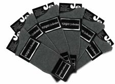 6 Pair of Biagio Solid CHARCOAL GREY Color Mens COTTON Dress SOCKS