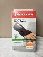 Mueller Green Fitted Right Wrist Brace