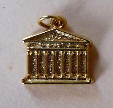 Fève pendentif en métal - Monuments de Paris - 1991 - La Madeleine