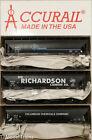 Accurail HO #8116 ACF 47' 3-Bay Hopper (3-pack) Cancabs,Sid Richardson,Columbian