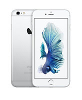 Apple iPhone 6s Plus - 64GB - Silver (AT&T) A1634 (CDMA + GSM)
