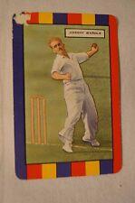 1953 - Vintage - Coles Cricket Card - English Cricketers - Johnny Wardle