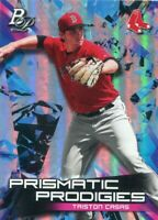 2019 BOWMAN PLATINUM RC TRISTON CASAS BOSTON RED SOX PRISMATIC INSERTS - A1637A