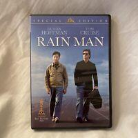 Rain Man (DVD, 2004, Special Edition) Tom Cruise Dustin Hoffman