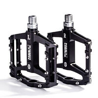 MEETLOCKS Bike Pedal Utral Triple Bearing CNC Aluminum Body For BMX Road Bicycle