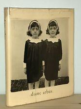 Diane Arbus - An Aperture Monograph - 1972 HCDJ 1st - Seminal Photography Book