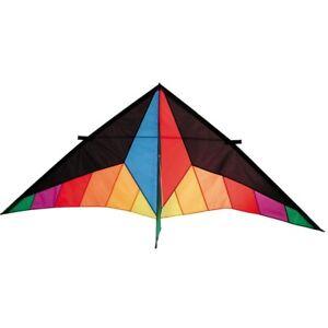HQ Drachen Einleiner Flugdrachen Delta Sport 2 m XL Kite R2F
