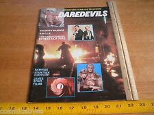 1984 TV Star Trek KHAN James Bond Man From UNCLE Daredevils #8 mag Road Warrior