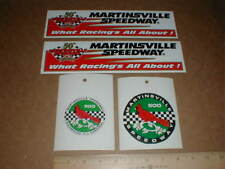 4 Martinsville Speedway Virginia Nascar Racing new old decal stickers 1947-1997