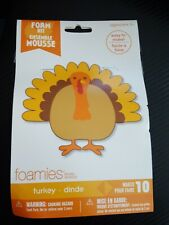 Foam Kit-Makes 10 - Turkey Foamies Darice New Thanksgiving