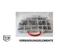 Spanplattenschrauben Sortiment 550 Teile TORX Ø4,5 EDELSTAHL versandkostenfrei