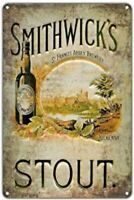 SMITHWICK'S IRISH BEER TIN SIGN RED ALE GUINNESS ST FRANCIS ABBEY IRELAND PUB