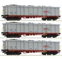 Roco H0 76082 Güterwagen-Set mit Schrottbeladung der ÖBB Neuheit 2020 NEU + OVP