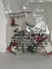 Tudor Electric Football Game Team Bag #51-D (11 Players per Bag Arkansas) NEW!
