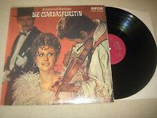 Emmerich Kalman - Die Csardasfürstin  Vinyl  LP Amiga   1972