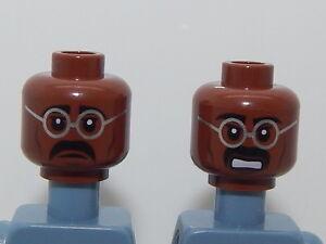 Lego Minifigure Head Teenage Mutant Ninja Turtles Baxter Stockman H40