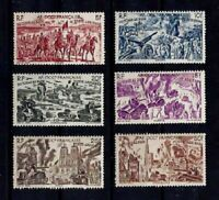 FRENCH COLONIES - WEST AFRICA, Yv. PA 5-10, MNH, VF, CV 15.60 EURO