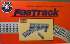 LIONEL FASTRACK 036 COMMAND CONTROL SWITCH LEFT HAND o gauge train 6-16824 NEW