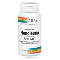 Monolaurin 60 Caps 500 mg by Solaray