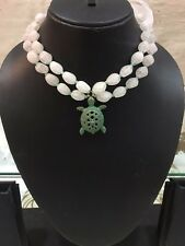 Jaipur beads Tortoise charm lucky stylish bead lacy fashion love necklace choker