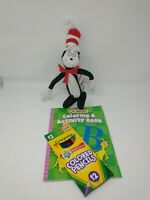 "CAT IN THE HAT Dr Seuss 13"" Plush 2003 Universal Studios Licensed Bundle Free SH"