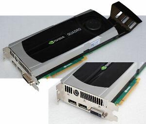 Graphic Card Nvidia Quadro 6000 Dell 0X256P 6GB GDDR5 To 2560x1600 Pci-E V196