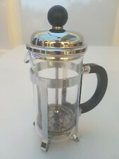 Vintage Pyrex Individual Size French Press Cafetiere for Brewing Coffee