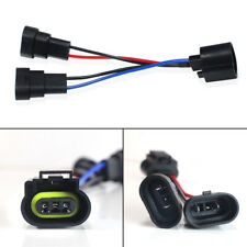 2X Dual 9005/9006 Convert H13 Wiring Conversion Adapters For Headlight Retrofit