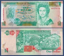 BELIZE  1 Dollar 1990 UNC  P. 51