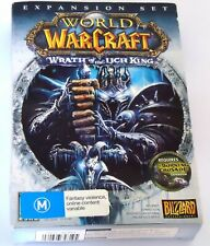 WORLD OF WAR CRAFT EXPANSION SET WRATH OF THE LICH KING