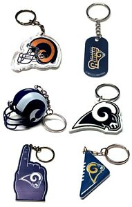 LOS ANGELES RAMS NFL FOOTBALL KEYCHAIN BACKPACK PULL  LICENSED  - YOU CHOOSE