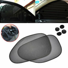 2x L&R Car Side Window Mesh Sun Shade Visor Cover Shield UV Protector