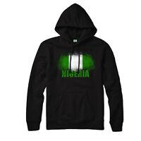 Nigeria Flag Hoodie, Coumtry Souvenir Love Vintavge Adults & Kids Gift Top