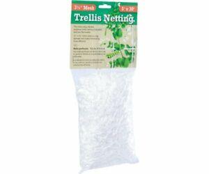 "Hydrofarm HGN30S Flexible String Trellis Netting, 5' x 30', 3.5"" Mesh"