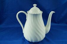 *03 WEDGWOOD CANDLELIGHT COFFEE POT AND LID EXCELLENT