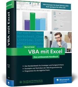 VBA mit Excel - Bernd Held - 9783836273985 DHL-Versand PORTOFREI
