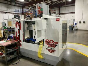 Used Haas VF-2 CNC Vertical Machining Center Mill Rigid Tap 4th Ready Chip Auger