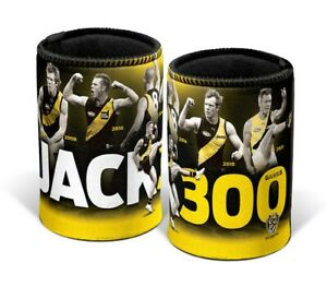 Richmond Tigers Jack Riewoldt AFL 300 Games Can Cooler Fathers Day Gift