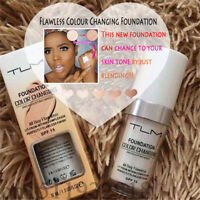 TLM SPF 50 Flawless Color Changing Foundation Makeup Base Face Liquid Cover US