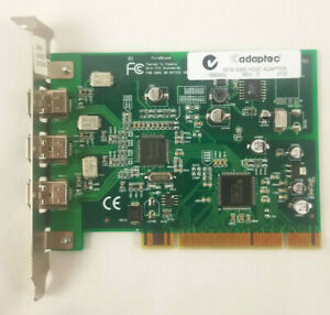 Adaptec FireConnect 4300 3-Port Firewire IEEE 1394 PCI Card AFW-4300A