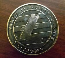 LEALANA 2013 Litecoin 1 LTC - Funded / Physical Crypto - Like Bitcoin CASASCIUS