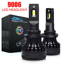 JDM ASTAR 9006 HB4 60W 10000LM LED Headlight Kit High/Low Beam Bulb 6000K vs HID