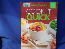 WEIGHT WATCHERS - COOK IT QUICK - SC