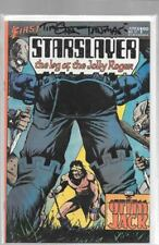 STARSLAYER THE LOG OF THE JOLLY ROGER 17 SIGNED TIMOTHY TRUMAN GRIM JACK FIRST