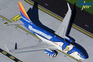 "GEMINIJETS (G2SWA926F) SOUTHWEST ""LOUISIANA 1"" 737-700 1:200 SCALE DIECAST MODEL"
